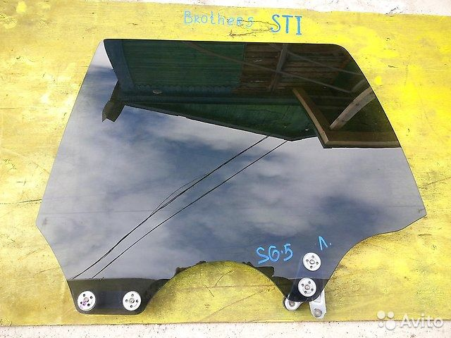 89625003353 Стекло заднее левое Subaru Forester, SG5