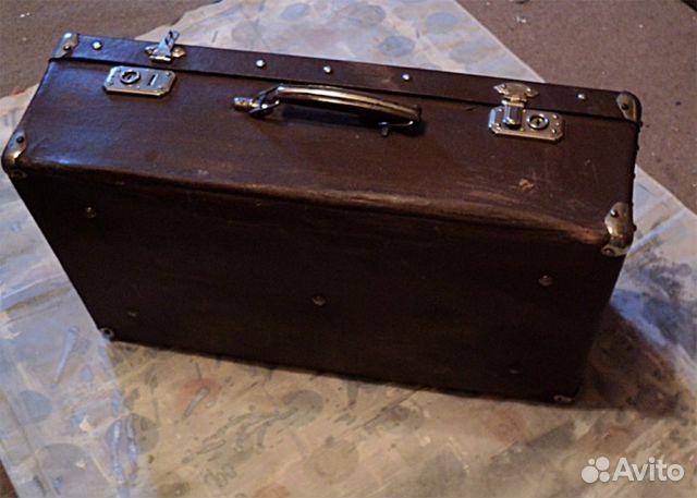 Реставрация старых чемоданов своими руками