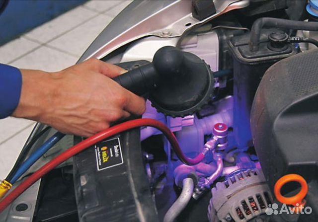 Как найти утечку фреона в кондиционере автомобиля