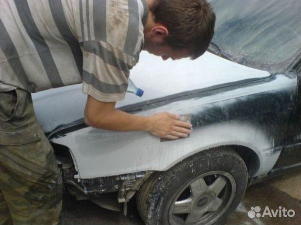 Подготовке и покраске автомобиля своими руками
