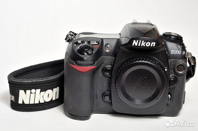 Nikon d200 тушка