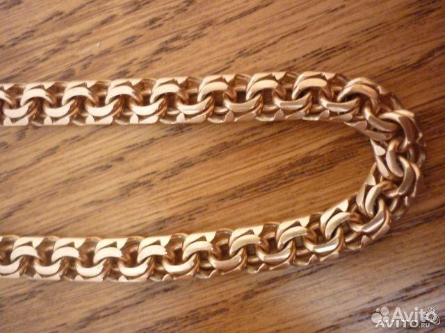 Мужские золотые цепочки плетение кардинал