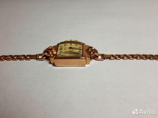 золотые мужские часы наручные механические