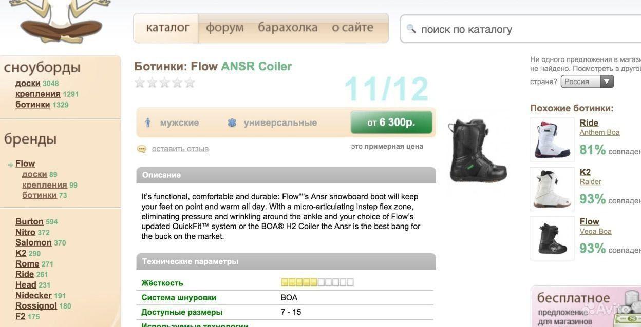 Ботинки сноубордические Flow   Блог им. mortjolhomaterfder   Блоги о ... f0cc780d01c