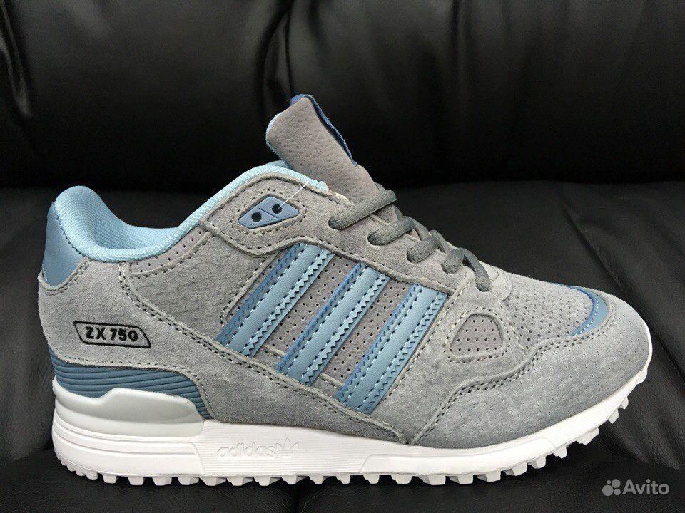 a6f35774 Кроссовки Adidas ZX 750 WV blue а-л 321006 женские   Festima.Ru ...
