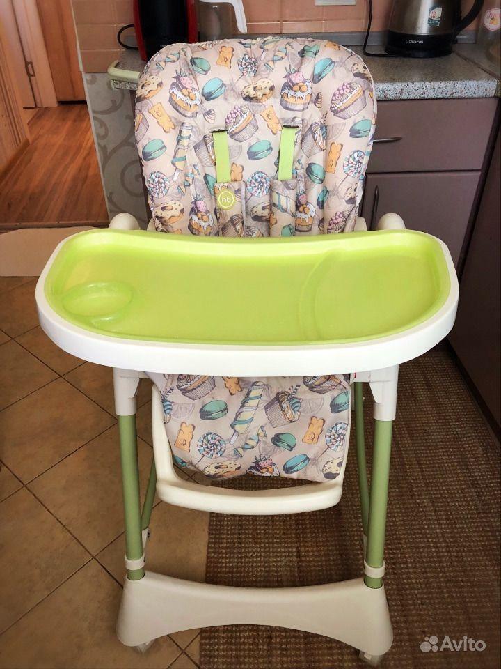 стульчик для кормления Happy Baby Kevin Festimaru мониторинг