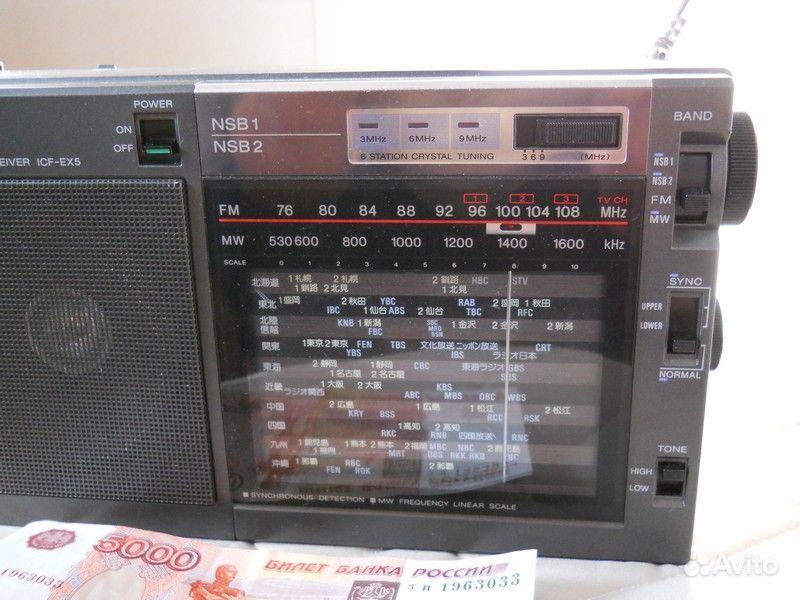 Sony радиоприемник -звук