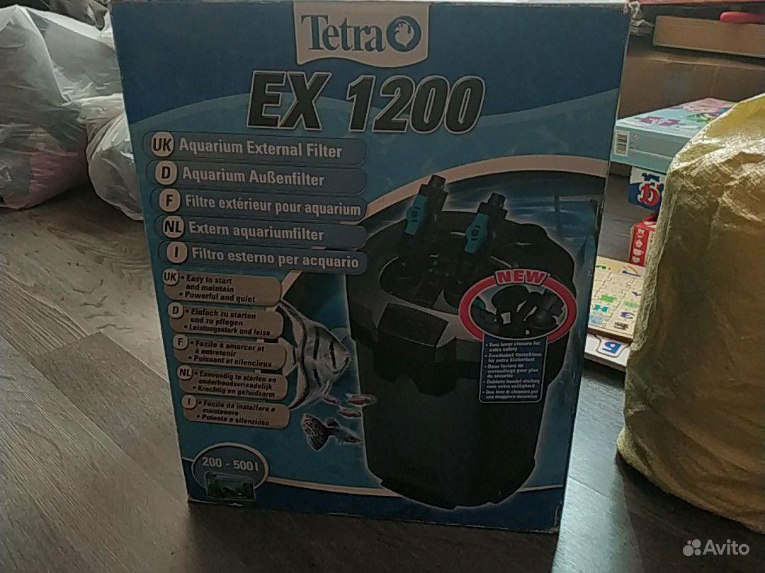 Внешний фильтр Tetra ex 1200 купить на Зозу.ру - фотография № 1