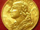 Золотые 20 франков 1927 года,Швейцария