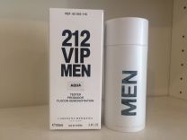 Carolina herrera 212 vip men aqua тестер