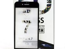 5D стекла для iPhone 7/ 7 Plus черные