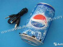 Колонка банка MP3-плеер (пепси)
