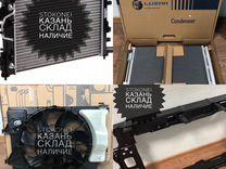 Новая кассета охлаждения Хундай Солярис 2 Лузар