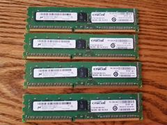 DDR3 ECC non-Reg 8GB 1600MHz Crucial Unbuffered