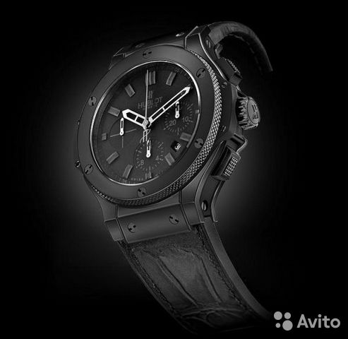 Часы Hublot. Big Bang Black N01-04— фотография №1
