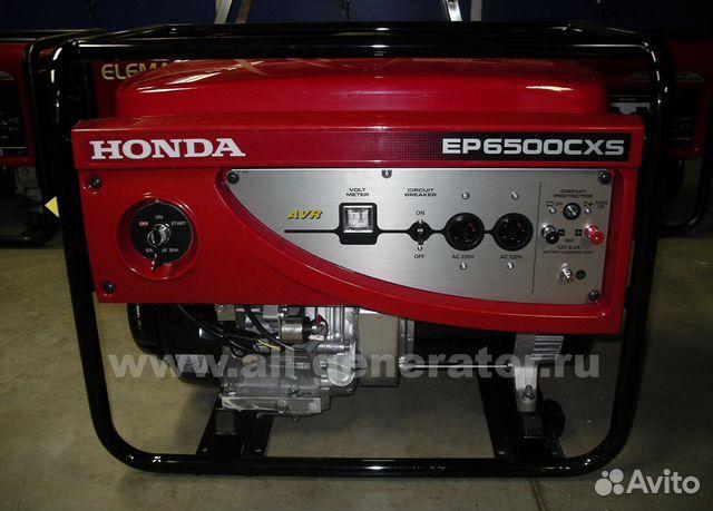 generator honda ep 6500 cxs