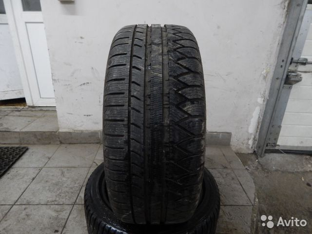 235x55-R17 Michelin Pilot Alpin 2шт— фотография №1