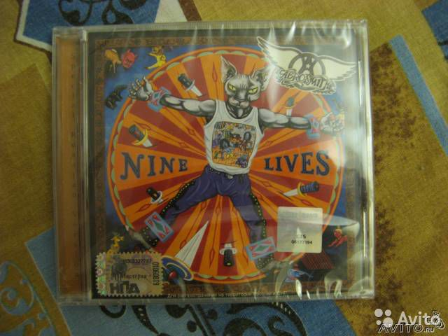 Aerosmith - Nine Lives (CD)