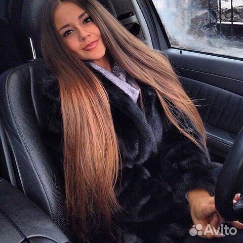 Красноярск волосы на заколках