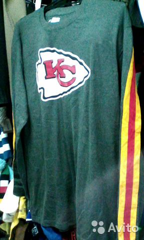 Футболка NFL Kansas Chiefs новая. Оригинал— фотография №1