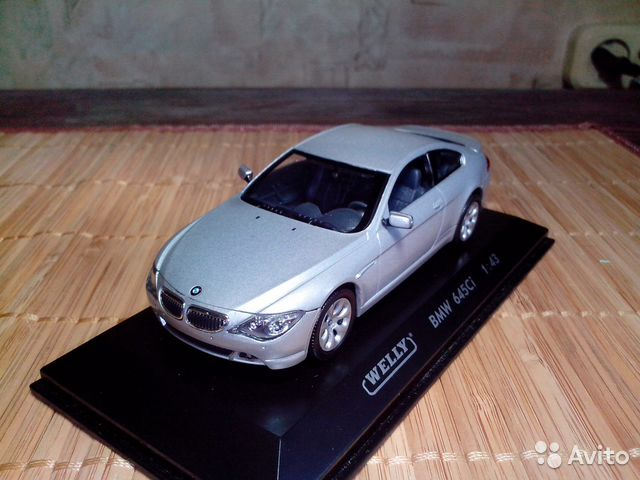 BMW 645 Ci 1/43 Welly— фотография №1