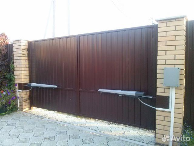 ворота автоматические уличные уфа