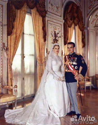 Свадебное  стиле грейс келли