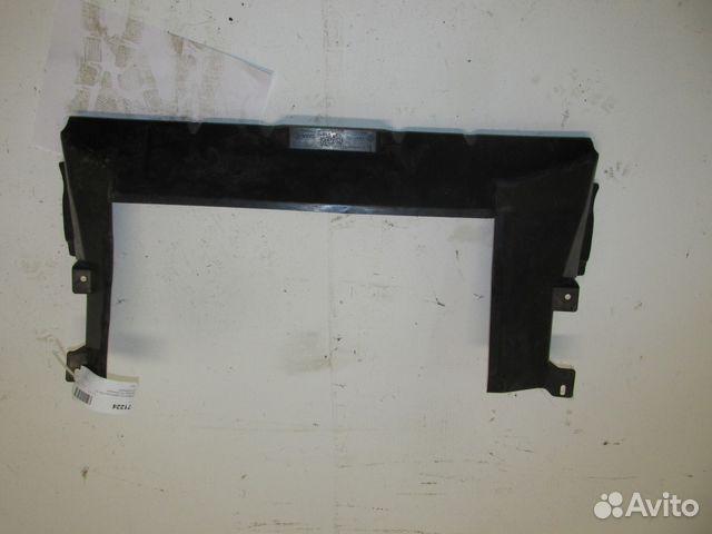 дефлектор радиатора верхний renault duster