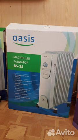 Масляный радиатор oasis BS-25 на 25кв. м 89608244014 купить 1