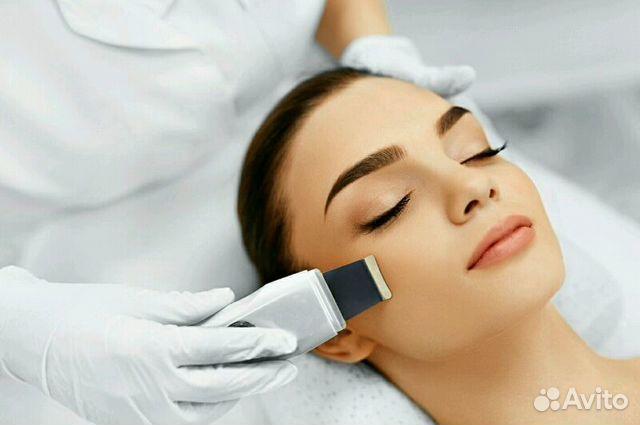 Ручная чистка лица у косметолога