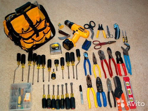 Электромонтажный инструмент и приспособления