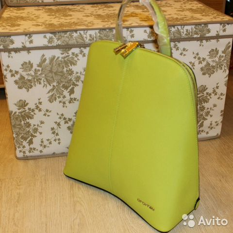 c5c96bd536bf Новый рюкзак сумка Оригинал Cromia Италия Натураль | Festima.Ru ...