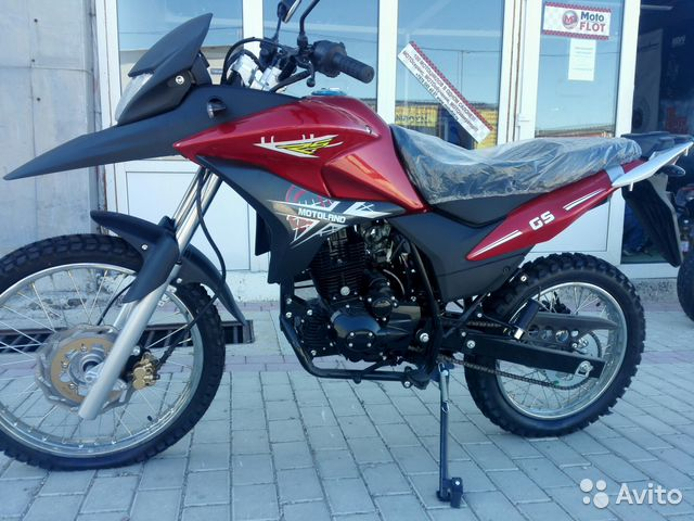Мотоцикл GS250 enduro - новый (мотофлот)