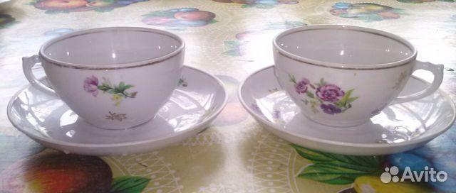 Чайная пара Дулево 1958 г 89201498912 купить 1