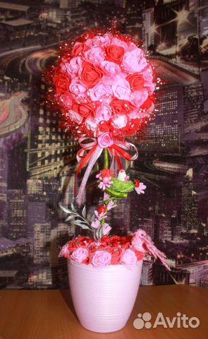 Топиарии из роз купить 1