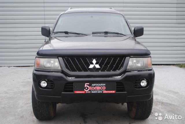 Mitsubishi Montero Sport, 2003— фотография №2