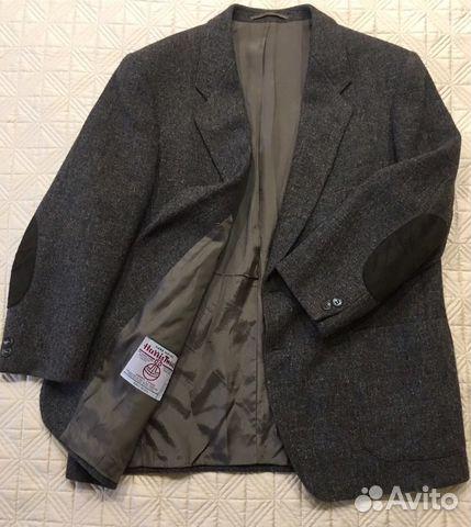 Твидовый пиджак Harris Tweed 52-54   Festima.Ru - Мониторинг объявлений eedc9656c03