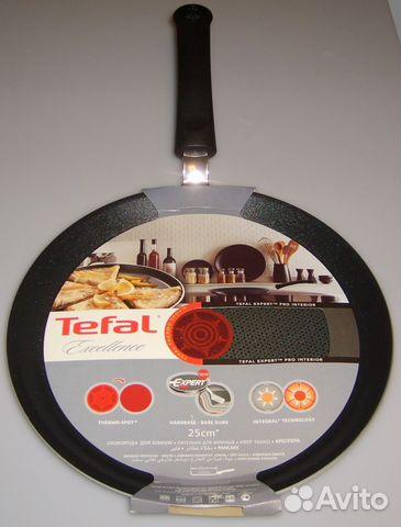 Сковорода для блинов индукционная tefal