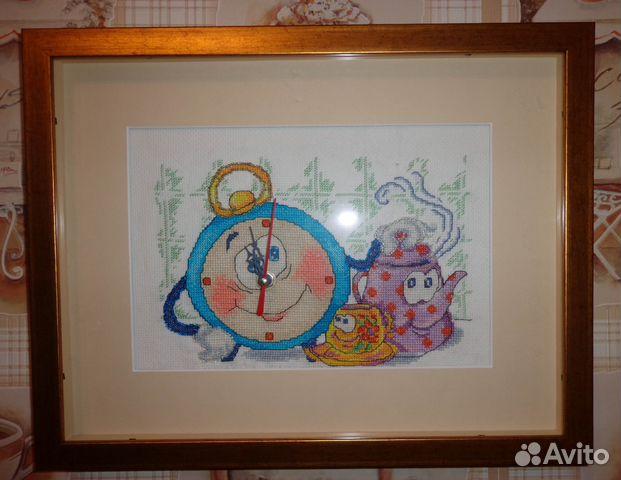 Часы картина мурманск