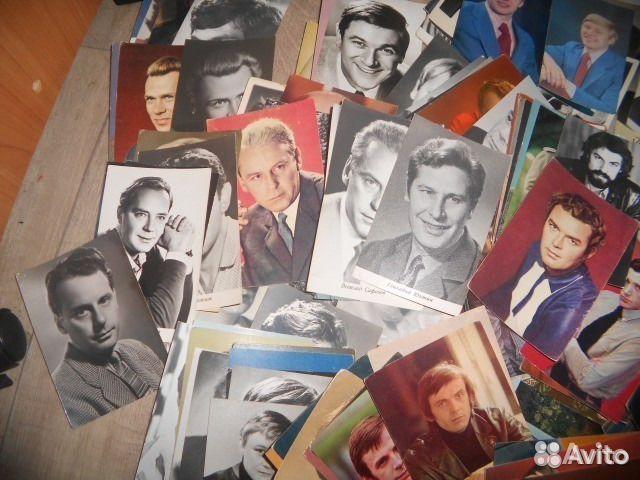 Продать открытки актеров ссср
