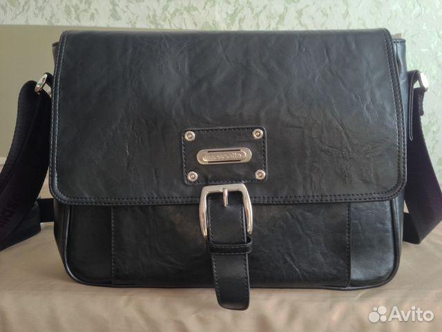 e13b98f4d92b Кожаная мужская сумка Mascotte купить в Московской области на Avito ...