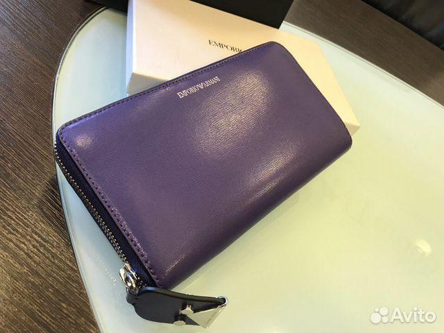 63869727c348 Кошелек женский кожаный Emporio Armani купить в Москве на Avito ...