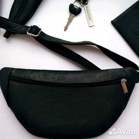 fd5906fd04e0 Поясная сумка из натуральной кожи | Festima.Ru - Мониторинг объявлений