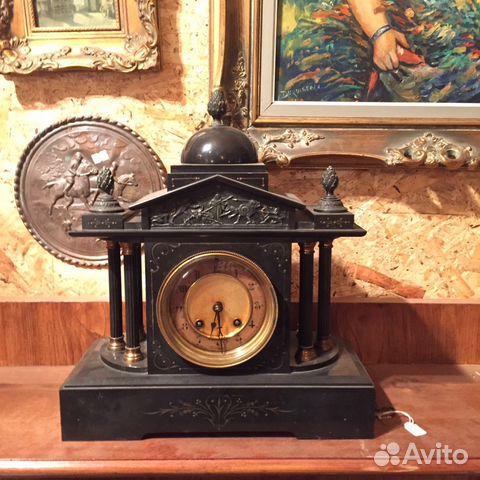 Старинные каминные часы продам часов стоимость романсон швейцарских