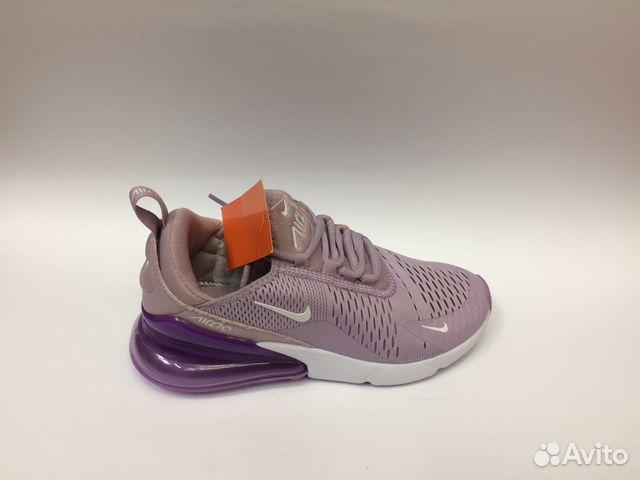 2fcfc56e Кроссовки Nike Air Max 270 женские фиолетовые сире купить в Москве ...