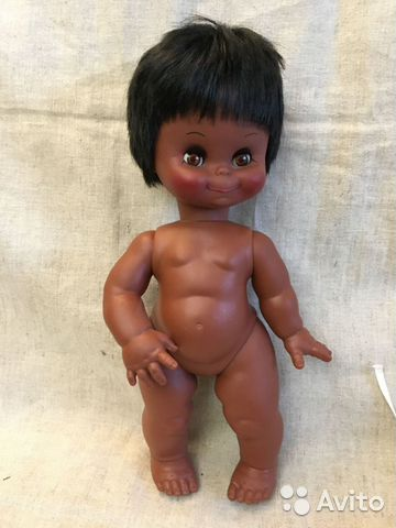 Кукла номерная, joll, 37 см, винтаж