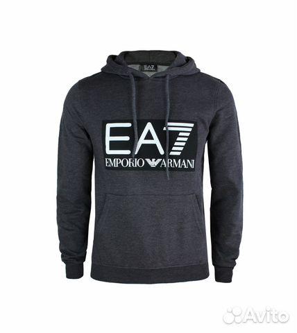 4ee498535df4 Emporio Armani EA7 толстовка худи оригинал новая купить в Москве на ...