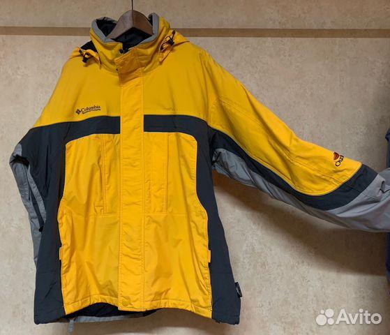 1af9de3656b3 Горно-лыжная куртка columbia прямого покроя, б у купить в Москве на ...