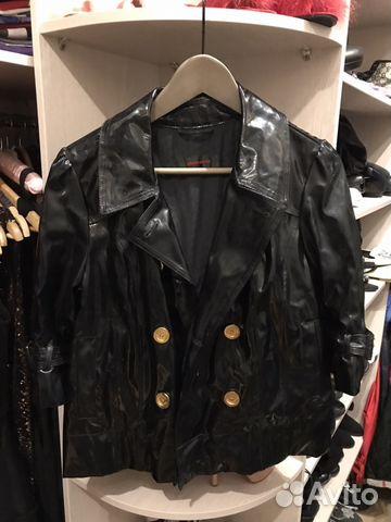 eb1b74f438f Лаковая кожаная куртка pierre cardin