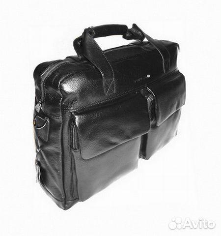 7f3801a944c6 Мужская кожаная сумка -montblanc- бизнес-поездки купить в Москве на ...